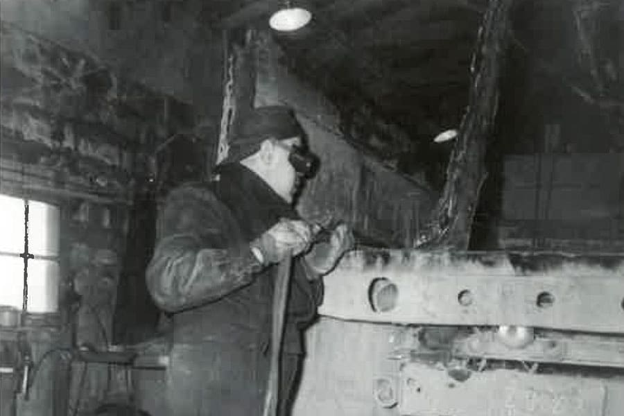 Leonard Bourque at Bourque's Welding